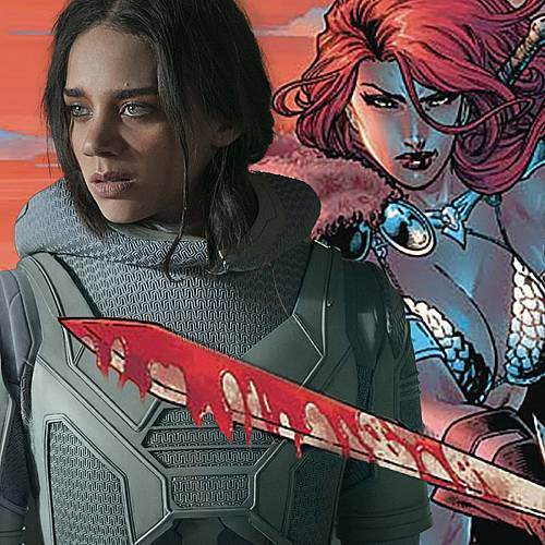 Hannah John-Kamen to Star in Red Sonja